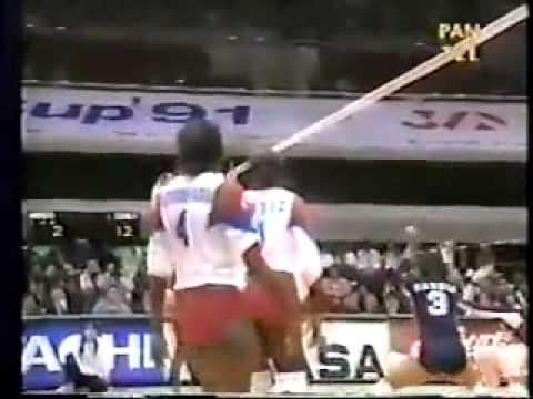 Ataques de Mireya Luis Copa del Mundo 1991