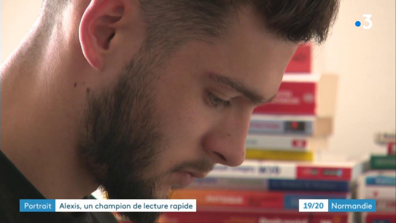 Download Un jeune normand champion de France de lecture rapide donne des conseils pour lire 200 pages en 1 h