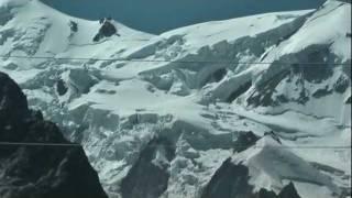 Aiguille Du Midi Cable Car Trip. Chamonix to Hellbronner. Mont-Blanc