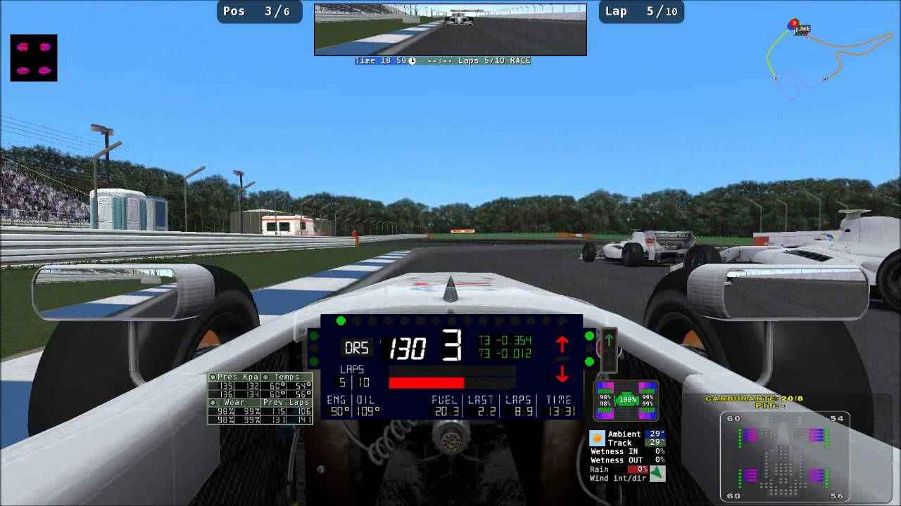 Rfactor 2 new hud for trackmap plugin youtube for R factor windows