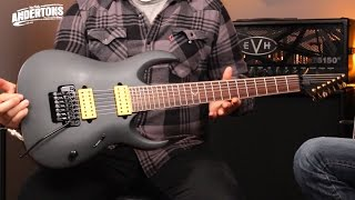 ibanez jake bowen 6 7 string guitar review