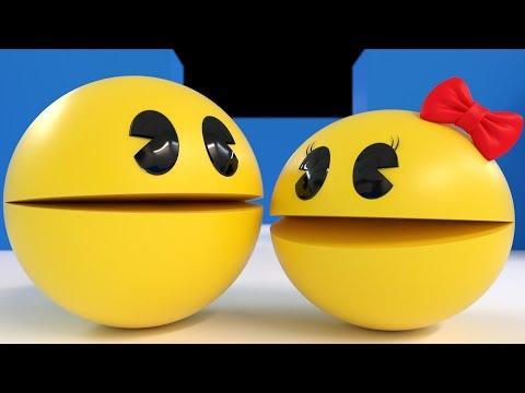 PAC-MAN MEETS MS.PAC-MAN [Love At First Sight]