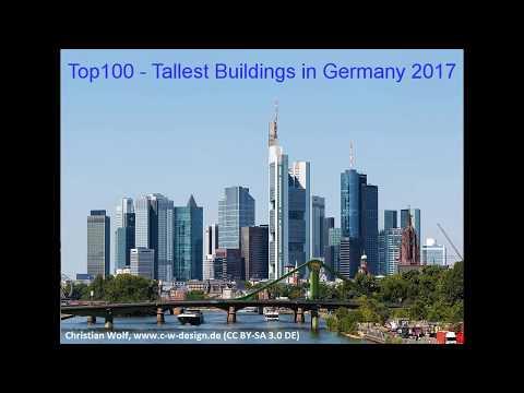 Top 100 - Tallest Buildings in Germany 2017
