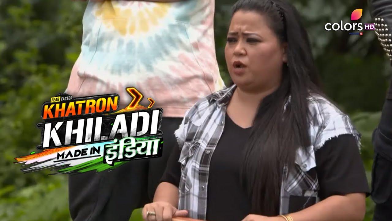 Khatron Ke Khiladi Made In India | खतरों के खिलाडी मेड इन इंडिया | Laughter Riot With Bharti