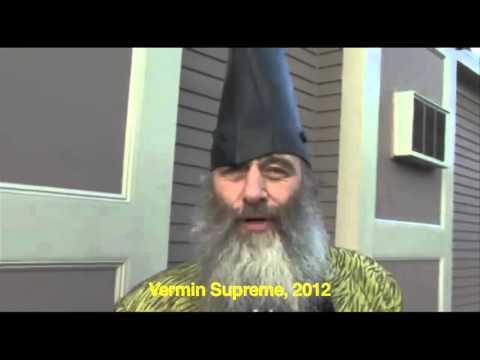 Baby Hitler: Vermin Supreme vs Jeb Bush vs Ben Carson