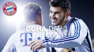 FC Bayern are back on the pitch | Doha 2020 | Day 1