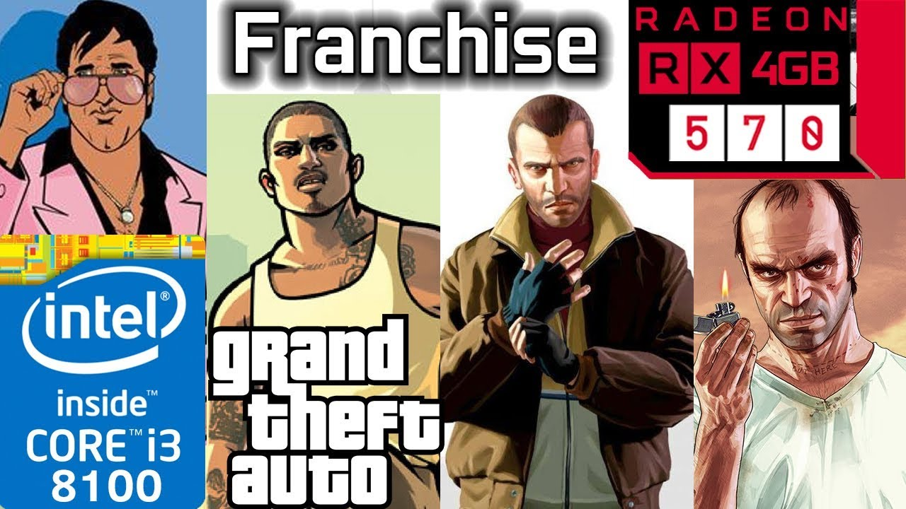 Gta Franchise Rx 570 3 4 5 Vice City San Andreas Grand Theft Auto Series Bench