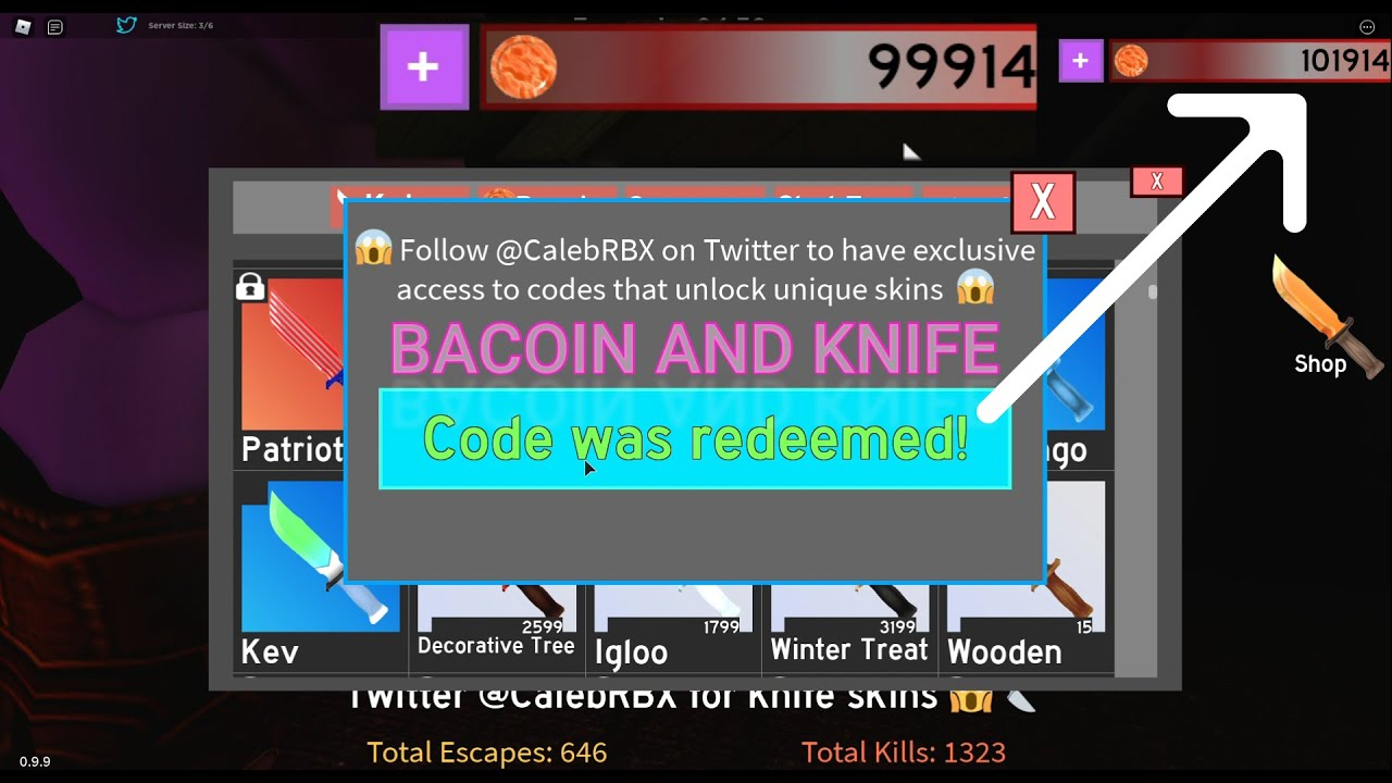 ALL NEW SECRET Bakon CODES Roblox (April 2021) !! BACOIN AND KNIFE !!