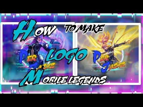 HOW TO MAKE MOBILE LEGENDS LOGO | YOUR FAVORITE HERO LOGO ...