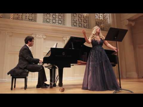 American opera diva Nikoleta Rallis and Aza Sydykov perform Begaliev's I miss you