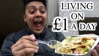 london hacks living on £1 a day