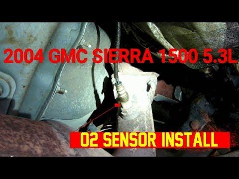 O2 Sensor Install 2004 Gmc Sierra 1500 5 3l Youtube