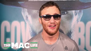 "Justin Gaethje: ""I don't want to win without me going to sleep or them going to sleep"""