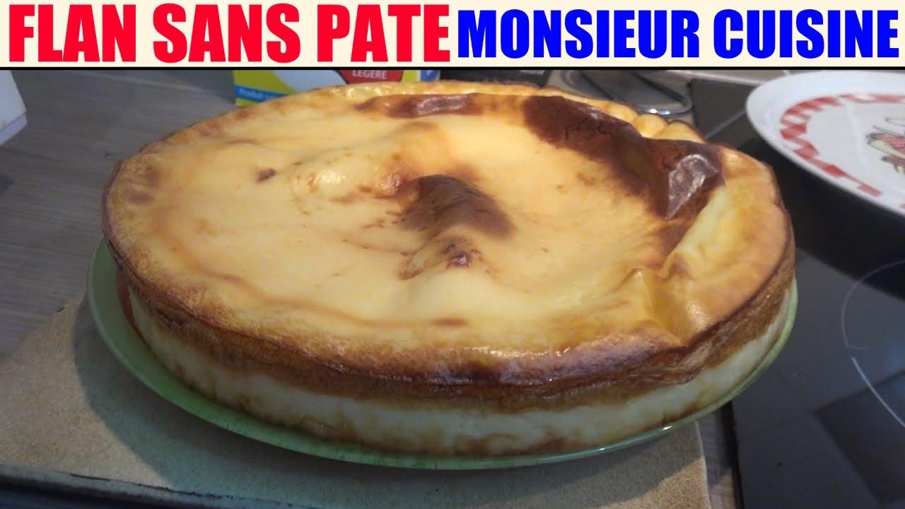 recette flan sans pate - monsieur cuisine lidl silvercrest skmh