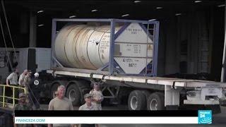 مراحل تدمير الأسلحة الكيماوية الليبية