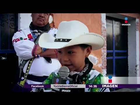 """Entrevista a Yuawi, el niño que canta """"Movimiento Naranja""""   Noticias con Yuriria Sierra"""