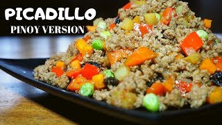 PICADILLO | EASIEST WAY TO COOK | FILIPINO VERSION