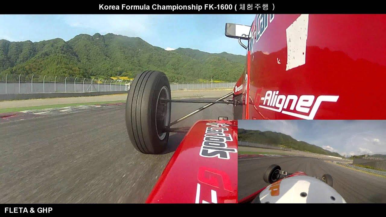 Download [FLETA MEDIA] Korea Formula Championship FK 1600 Onboard  코리아 포뮬러 FK 1600 체험주행 온보드 영상
