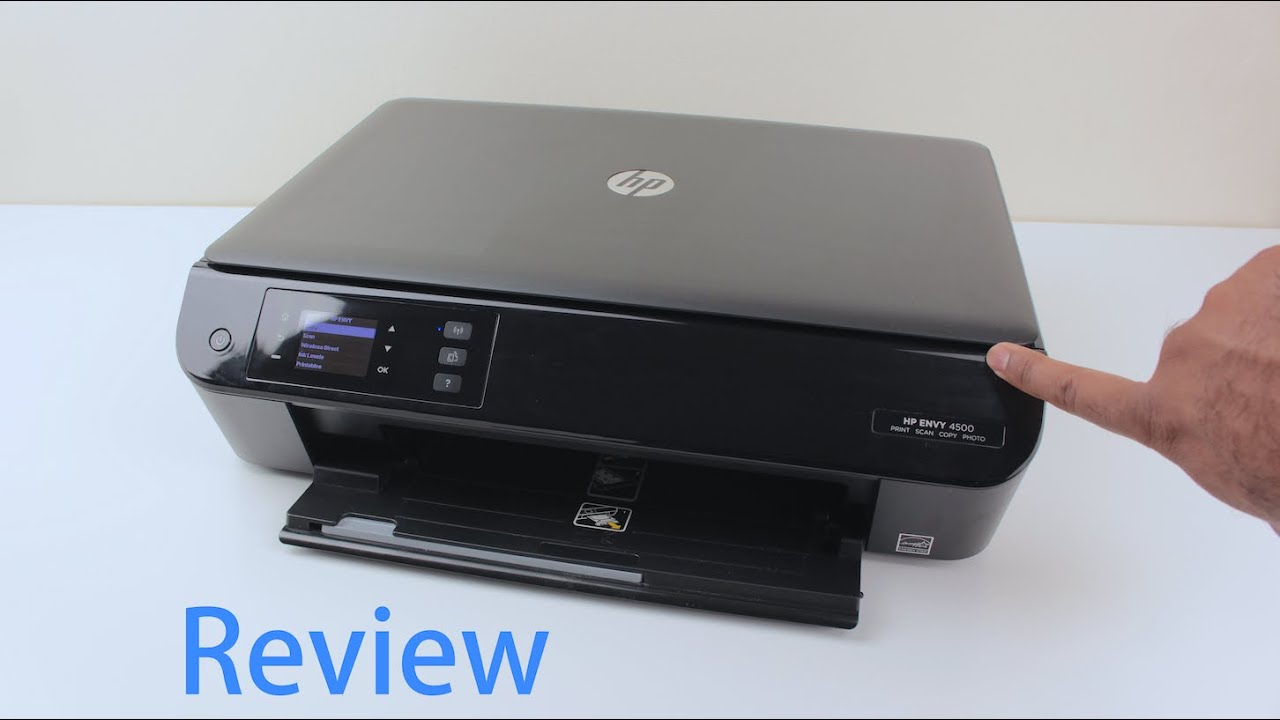 Hp Envy 4500 Printer Review E All In One Printer
