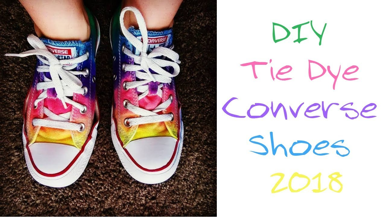 e9171e1eab81 DIY Tie Dye Converse Shoes