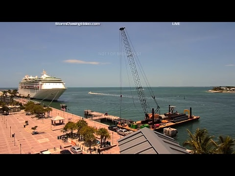 LIVE Key West Florida Weather Mallory Square - 7/28/2016