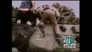 (衝撃!)アメリカで戦車の暴走、犯人射殺