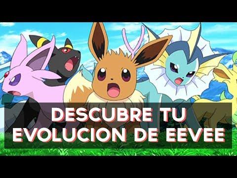 Qué Evolución De Eevee Pokémon Eres Test Divertidos самые