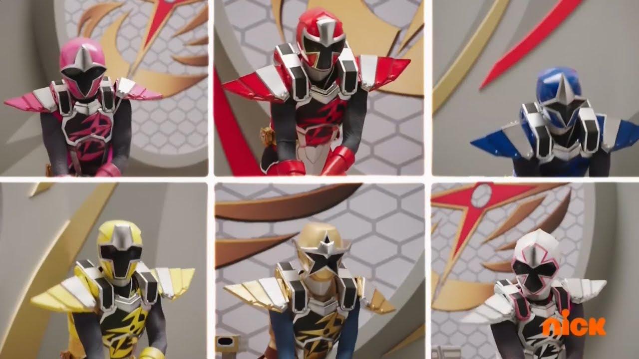 Power Rangers Ninja Steel Ace And The Race Megazord Fight