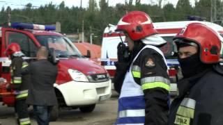 Crashtest - tramwaj vs. samochód osobowy (full movie)