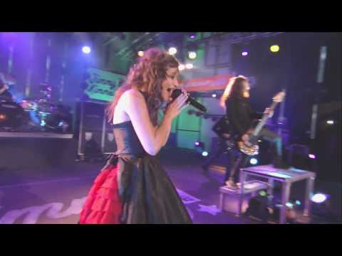 Flyleaf Again  on Jimmy Kimmel  HD!!