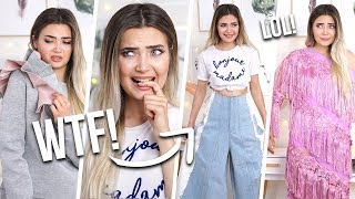 I BOUGHT THE WEIRDEST CLOTHING ITEMS ON ASOS... WTF!