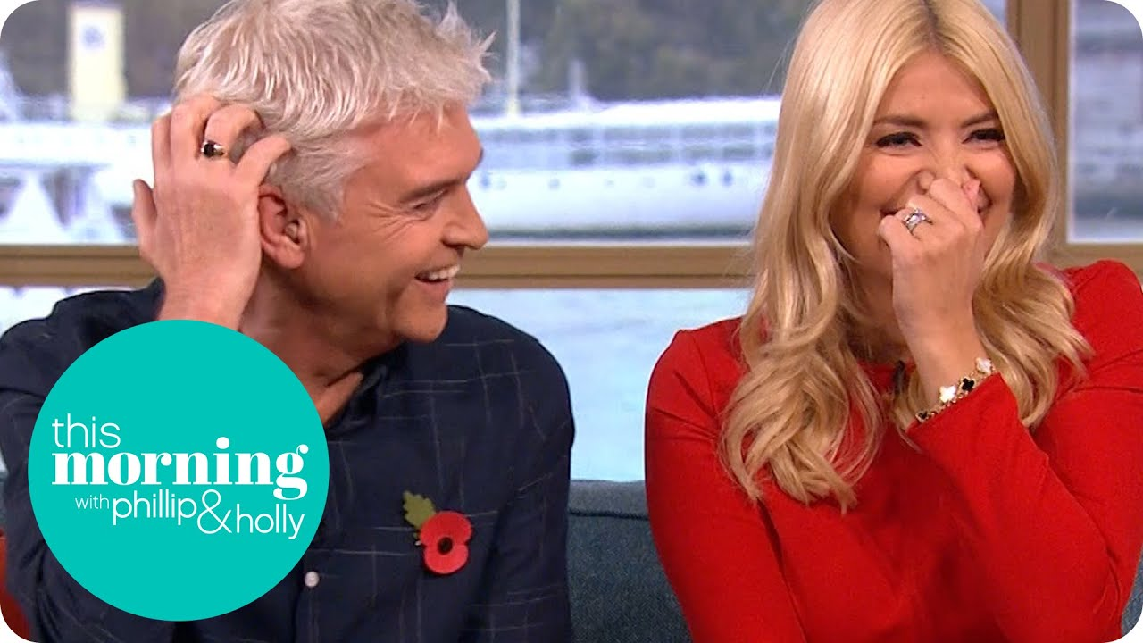 Real-life Sherlock Colin Cloud Reveals Phillip and Holly's Secrets | This  Morning