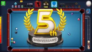 8 Ball Pool turns 5 - celebrate with a free cue!