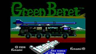 [AMSTRAD CPC] Green Beret - Longplay & Review (aka Rush