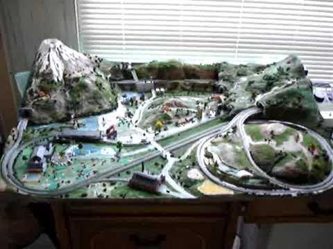 T Gauge Mt. Fuji Japan. 1=450 scale 2-lines model railroad