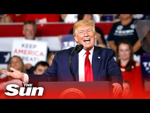 Live: Donald Trump holds campaign rally in Macon, Georgia