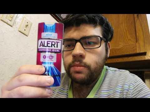 Deadcarpet Energy Drink Reviews - Mint Alert Caffeine Gum