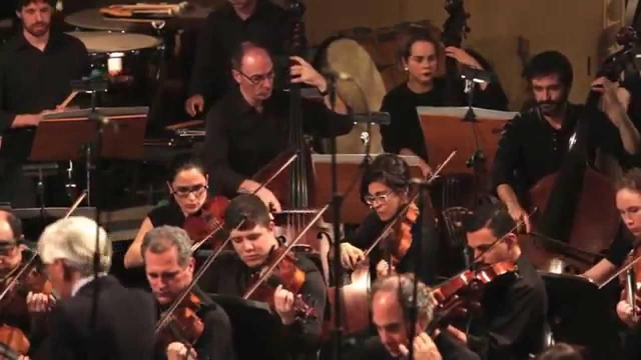 Concerto para órgão e orquestra de Alexandre Rachid.