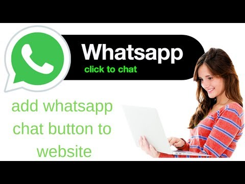 How To Add Whats App Live Chat On Your Website 2019
