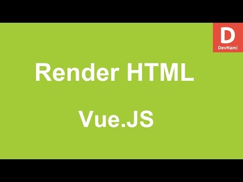 Vue.Js How to Render HTML Content in Vue thumbnail