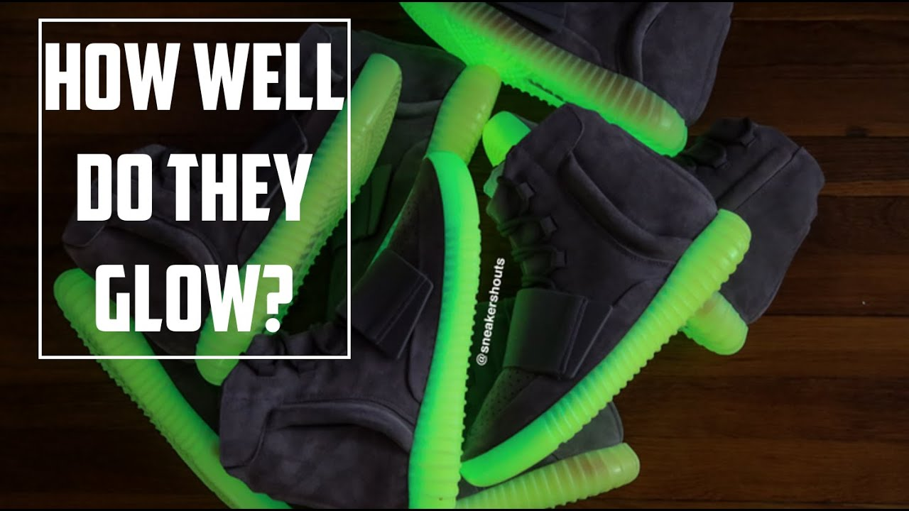 5a13dc8b3072d Yeezy 750 Boost  How Well Do They Glow  - YouTube