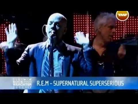 R.E.M. Supernatural Superserious Live At Rock Werchter 2008 Pro-shot