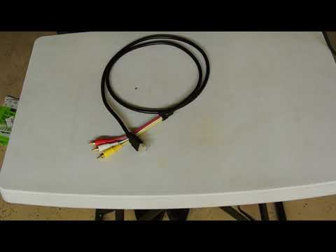 HDMI TO RCA CONVERSION CABLE REVIEW