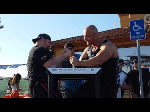 Chris Chandler (1) @ WAL Armwrestling Riverside 2016