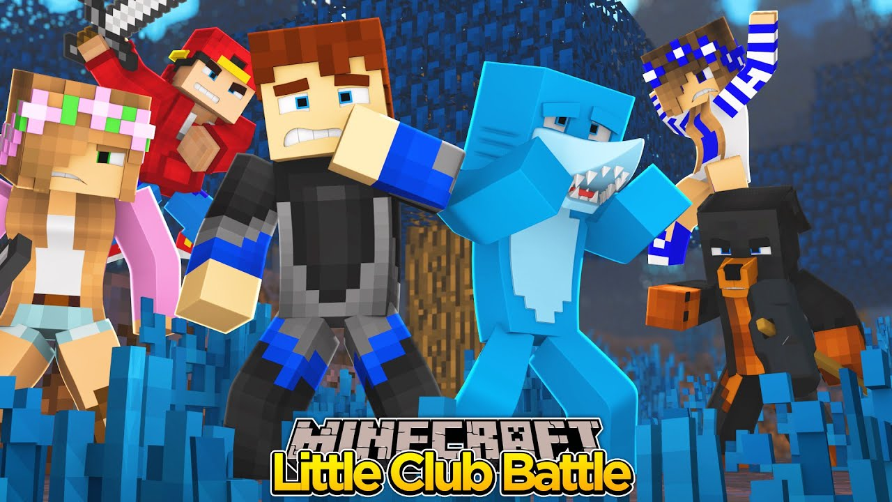 Minecraft little club battle to the death youtube - The little club ...