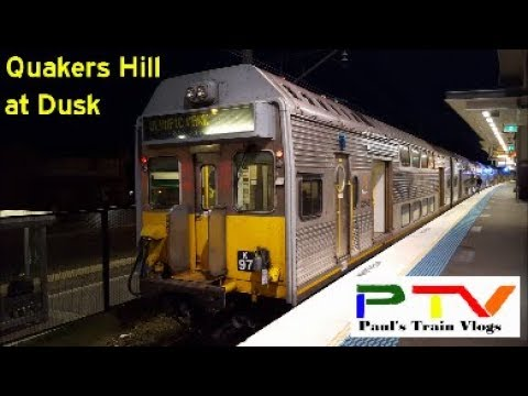 Paul's Train Vlog 483: Quakers Hill at Dusk
