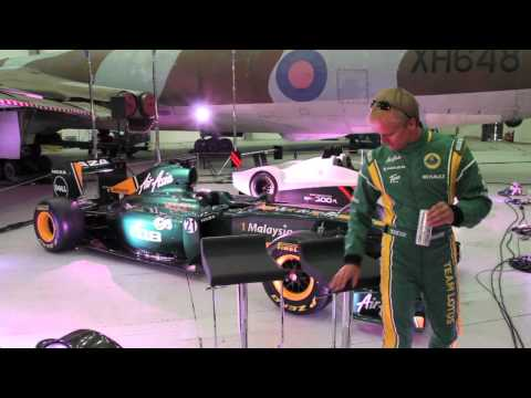 Team Lotus Duxford Aero Test Day