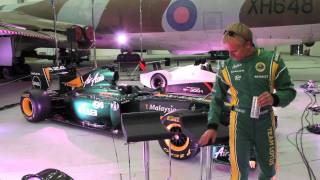 Team Lotus Duxford Aero Test Day