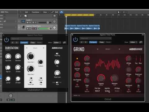 Piano Loop meets Audio Damage Grind & Dubstation 2