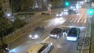 Авария в Красном Селе 23.09.21